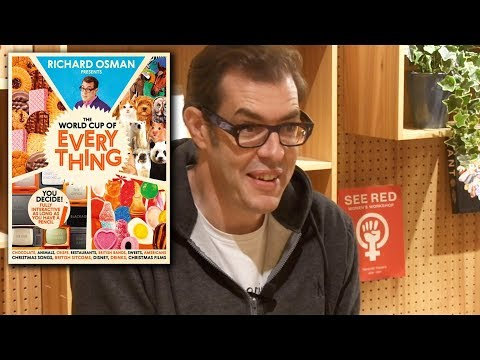 Richard Osman: The Waterstones Interview