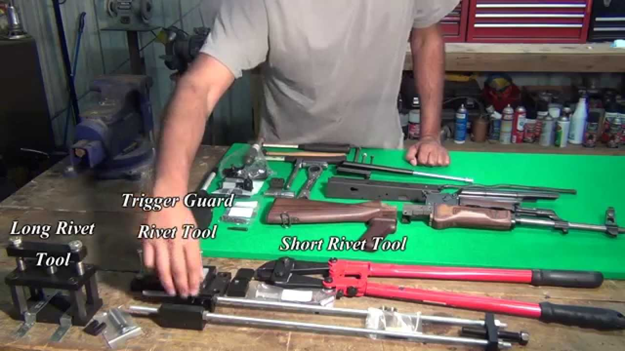 AK47 BUILD Adventure! Vice, hammer, and wrenches is all you need!