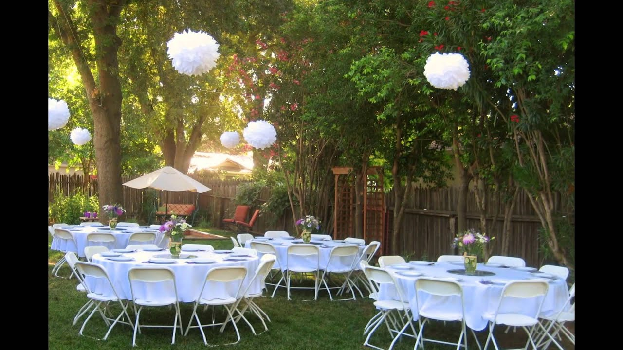 Marvelous The Best Garden Party Ideas 2015   YouTube Images