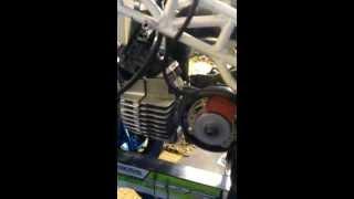 Zelfbouw Puch Minibike / Pocketbike home made!