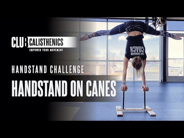 DAY 29 - Handstand on Canes & Blocks