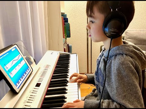 My Piano Journey with Simply Piano in 22 month (5 - 7 years)