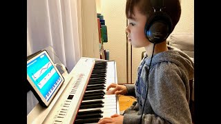 Download lagu Piano progress with Simply Piano in 22 month, kid started at age 5 self-learning