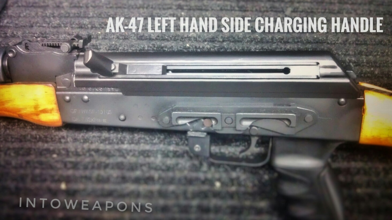 AK-47 Left-Hand Charging Handle: DTS LINCH Cover