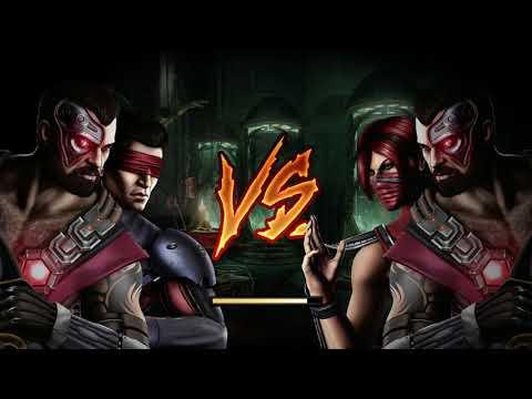 Mortal Kombat IX - Expert Tag Ladder - Kano & Kenshi