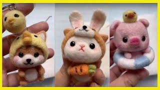 How To Make Cute Stuffed Animals / Handmade Stuffed Toy (Puppy, Kitty, Punny)