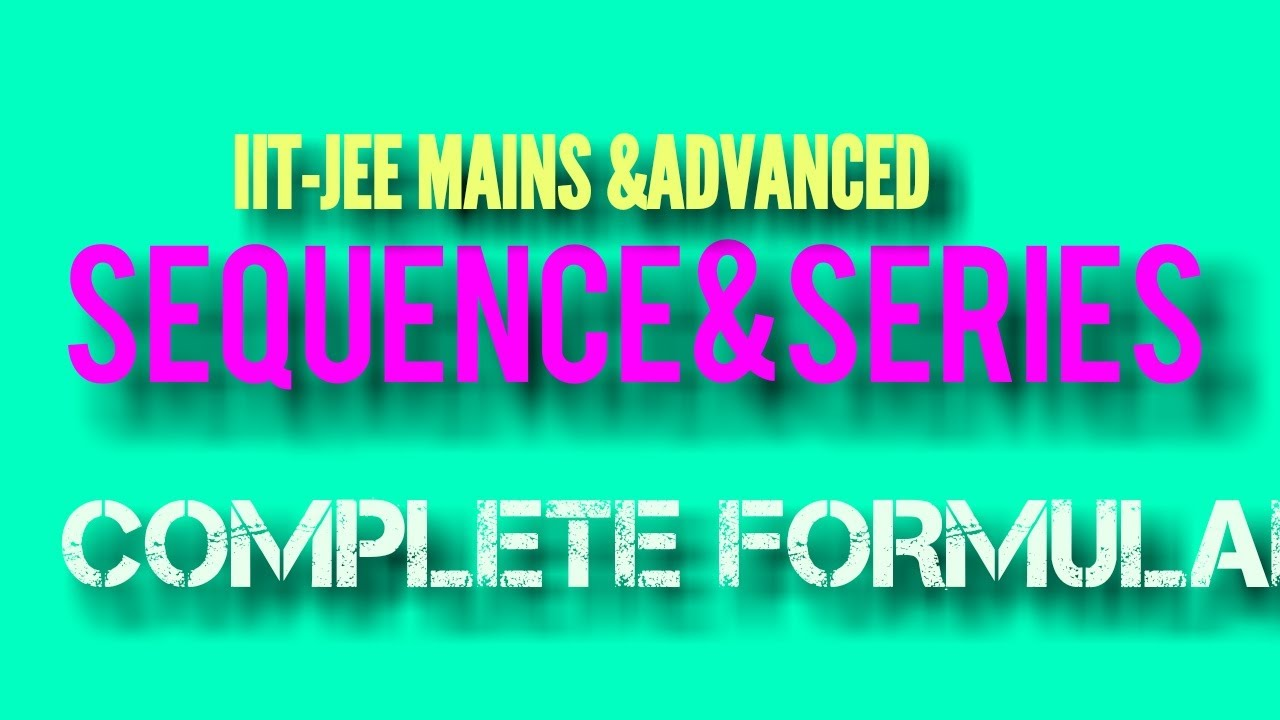 Download SEQUENCES AND SERIES - PROGRESSIONS-A.P-G.P