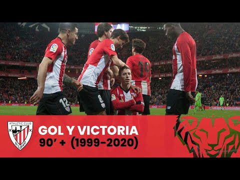 ⚽ Gol y victoria en el 90'+ (LaLiga 1999-2020) | Athletic Club