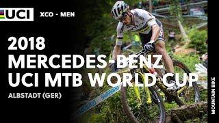 2018 mercedes-benz uci mountain bike world cup - albstadt (ger) / men xco