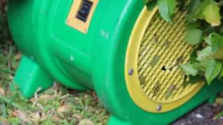 Canon T6 Test- Bounce House Blower