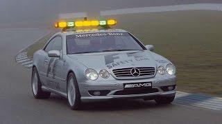#1715. Mercedes Benz CL55 AMG Safety Car 2000 (супер видео)