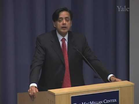 "Shashi Tharoor,  ""India and China: Competition, Co-operation, Conflict?"""