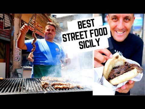 STREET FOOD CAPITAL Of ITALY   Massive SICILY STREET FOOD Tour    What To Eat In SICILY