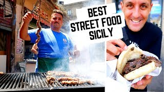STREET FOOD CAPITAL of ITALY | Massive SICILY STREET FOOD tour  | What to eat in SICILY