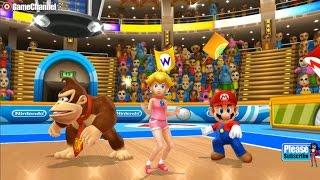 Mario Sports Mix - Mario And Friends Volleyball Games - Videos Games - Nintendo Wii Edition
