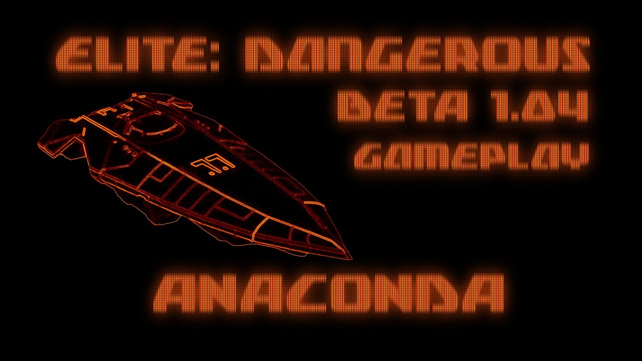 elite dangerous anaconda test drive with combat and screaming youtube. Black Bedroom Furniture Sets. Home Design Ideas