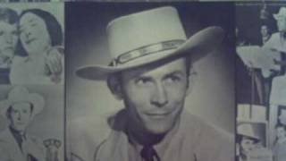 HANK  WILLIAMS-THE BLUES COME AROUND~FINGERS ON FIRE