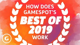 How Does GameSpot's Best Of Work?