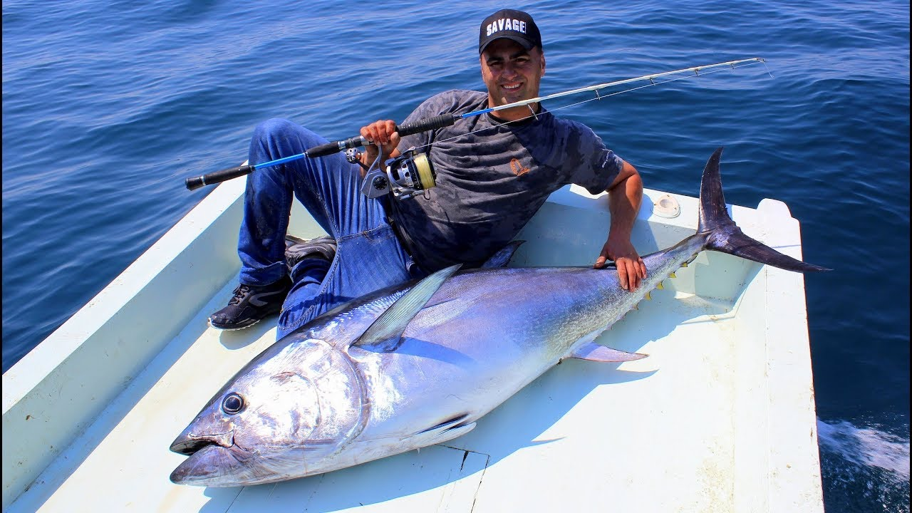 Hayatımın En Büyük Balığını Yakaladım / Spin Makine İle Rekor Orkinos Avı