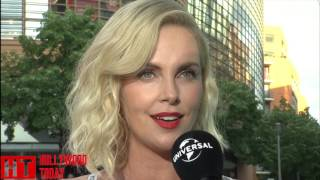 Charlize Theron Interview   Talks Visiting Berlin & Atomic Blonde
