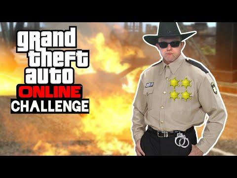 Challenge: Wer kann am längsten 4 Sterne behalten 🎮 Grand Theft Auto Online #182
