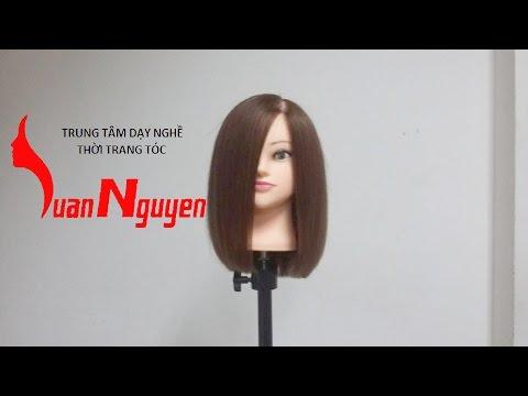 Hướng dẫn cắt tóc ngang vai Hàn Quốc ( Bai 6 )
