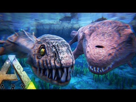 Ark Survival Evolved - BABY PLESIOSAUR & MOSASAURUS, SEA CREATURE BREEDING - (Ark Survival Gameplay)