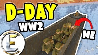 D-Day | Unturned WW2 roleplay (World War II RP Server)