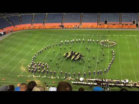2018 Blue Knights, Drums Across the Rockies, Mile High Stadium, Denver, CO (7/14/2018)