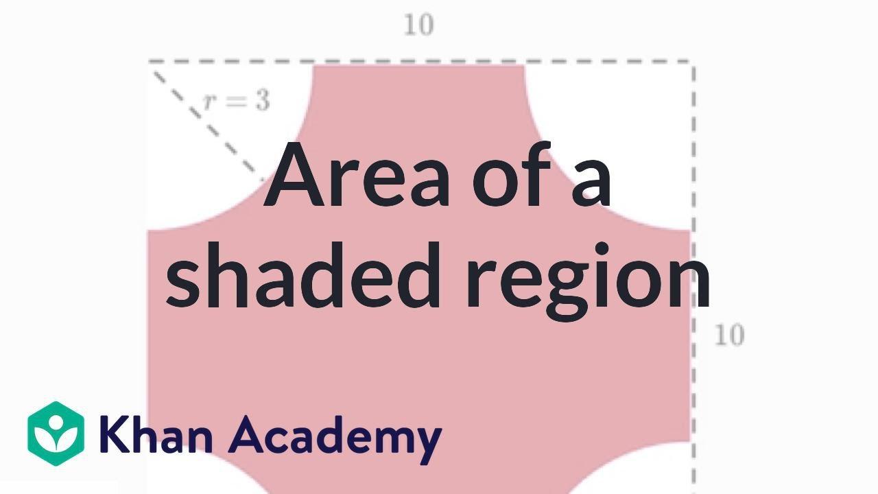 Fish tank khan academy - Area Of A Shaded Region Video Geometry Khan Academy