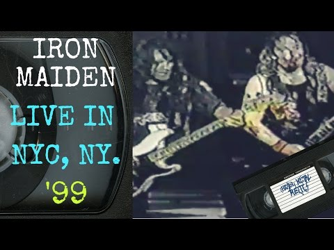 Iron Maiden Live in New York City July 16 1999