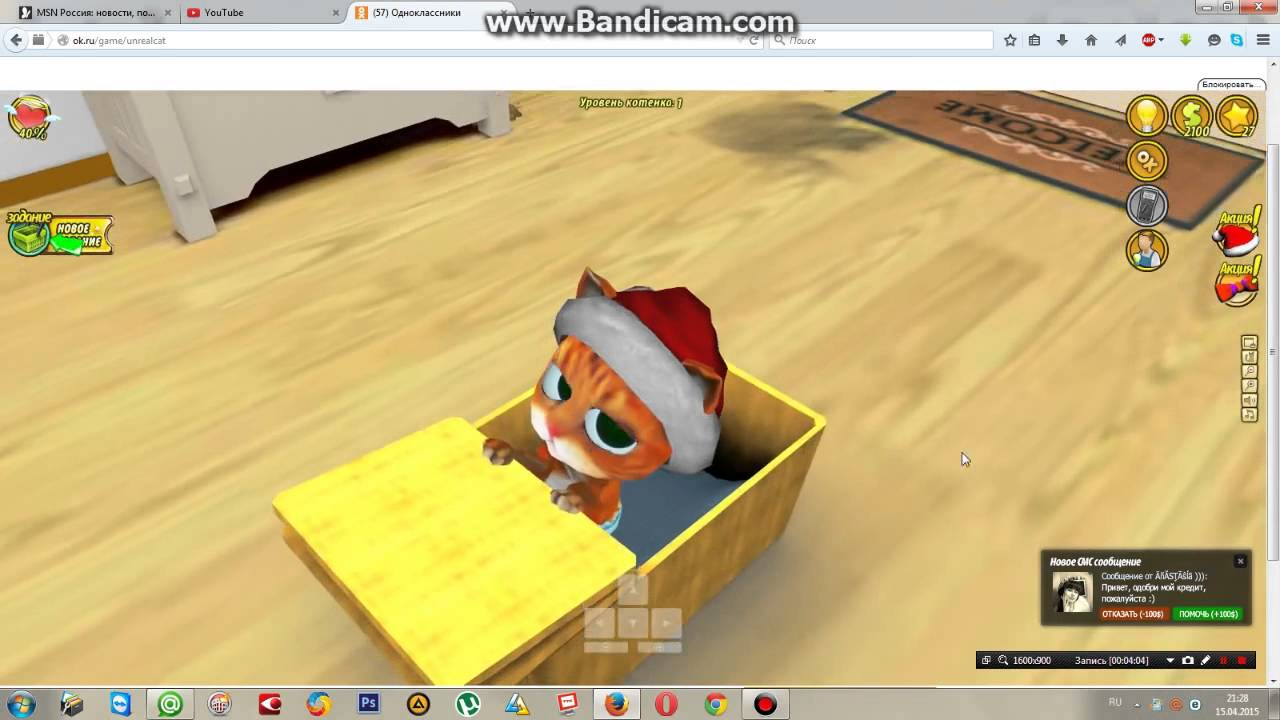Играть в нереального кота 3d