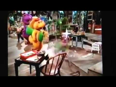 Baby Bop and BJ leave (Barney's Beach Party)