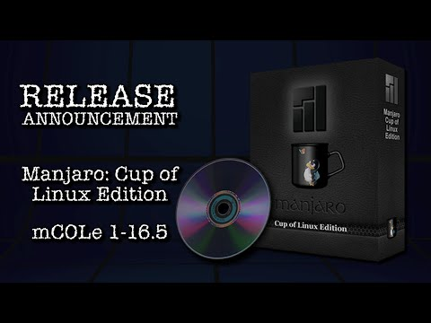 RELEASE: Manjaro Cup of Linux Edition 1-16.5