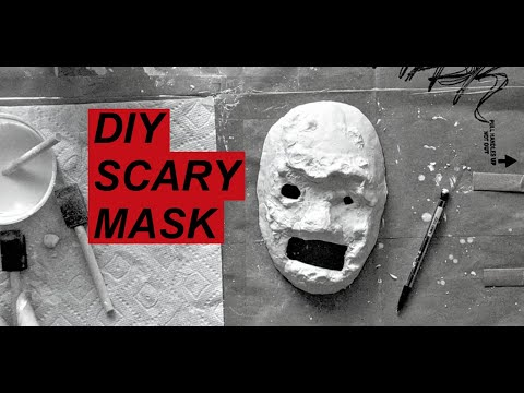 DIY Scary Mask || Inspired by Poppy