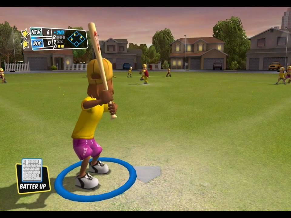 Backyard Sports Pc pc] backyard sports sandlot sluggers gameplay - youtube