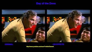 Star Trek - Day of the Dove - visual effects comparison