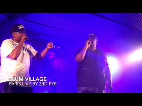 Slum Village live in Paris 2016