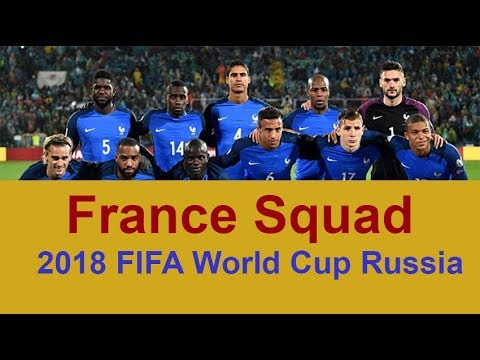 Started in 1930, the world cup takes place every four years and reunites 32 teams out of 211 teams which compete. France Football Team Squad 2018 Fifa World Cup Russia Fifa World Cup Russia 2018 Official Video Youtube