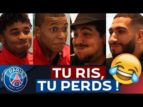 TU RIS, TU PERDS ! CHALLENGE feat. Kylian Mbappé, Adrien Rabiot