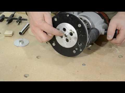 Как сделать копировальную втулку для фрезера.