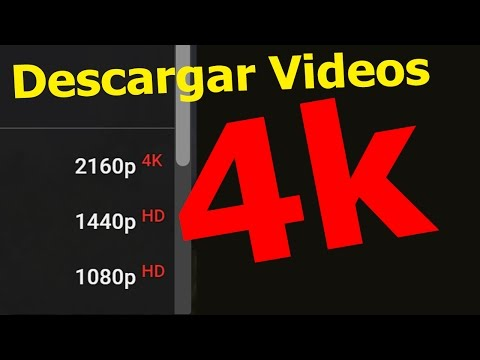 Descargador Videos De YouTube A 4K (Portable)
