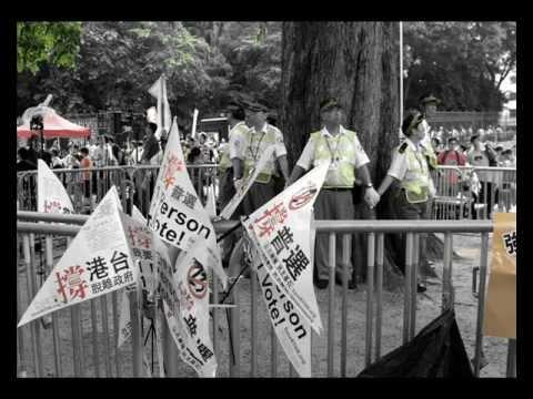 Hong Kong 1 July marches 七一遊行 2011