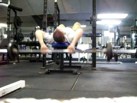 barbell pullover-press - YouTube