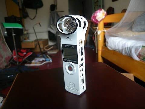 Zoom H1 Voice Test (MP3/WAV)