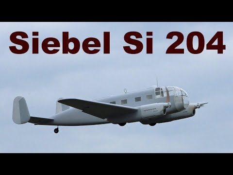 Siebel Si 204, Giant Scale RC Aircraft, 2019