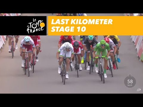 Last kilometer - Stage 10 - Tour de France 2017