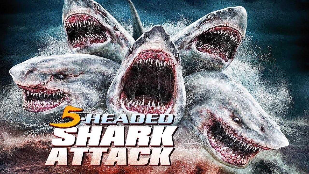 5 Headed Shark Trailer Deutsch  E1 B4 B4 E1 B4 B0