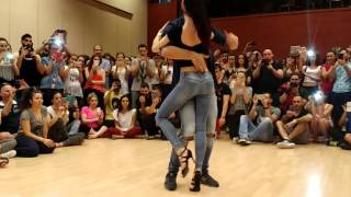 Andrea & Silvia Sensual Bachata Salsa Spring Festival 2016 Greece