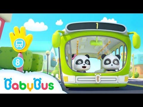 Panda Bus Driver: Let's Go!    Kids Profession Songs   Nursery Rhymes   BabyBus